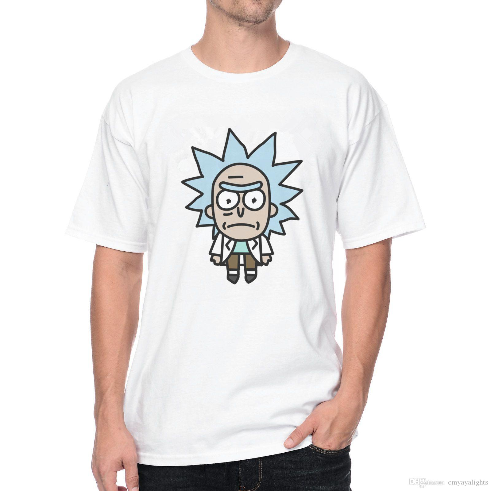 Design t shirt europe - Pocket Rick T Shirt 1053 3d Printed Cartoon Vintage Design T Shirts Fashion Male