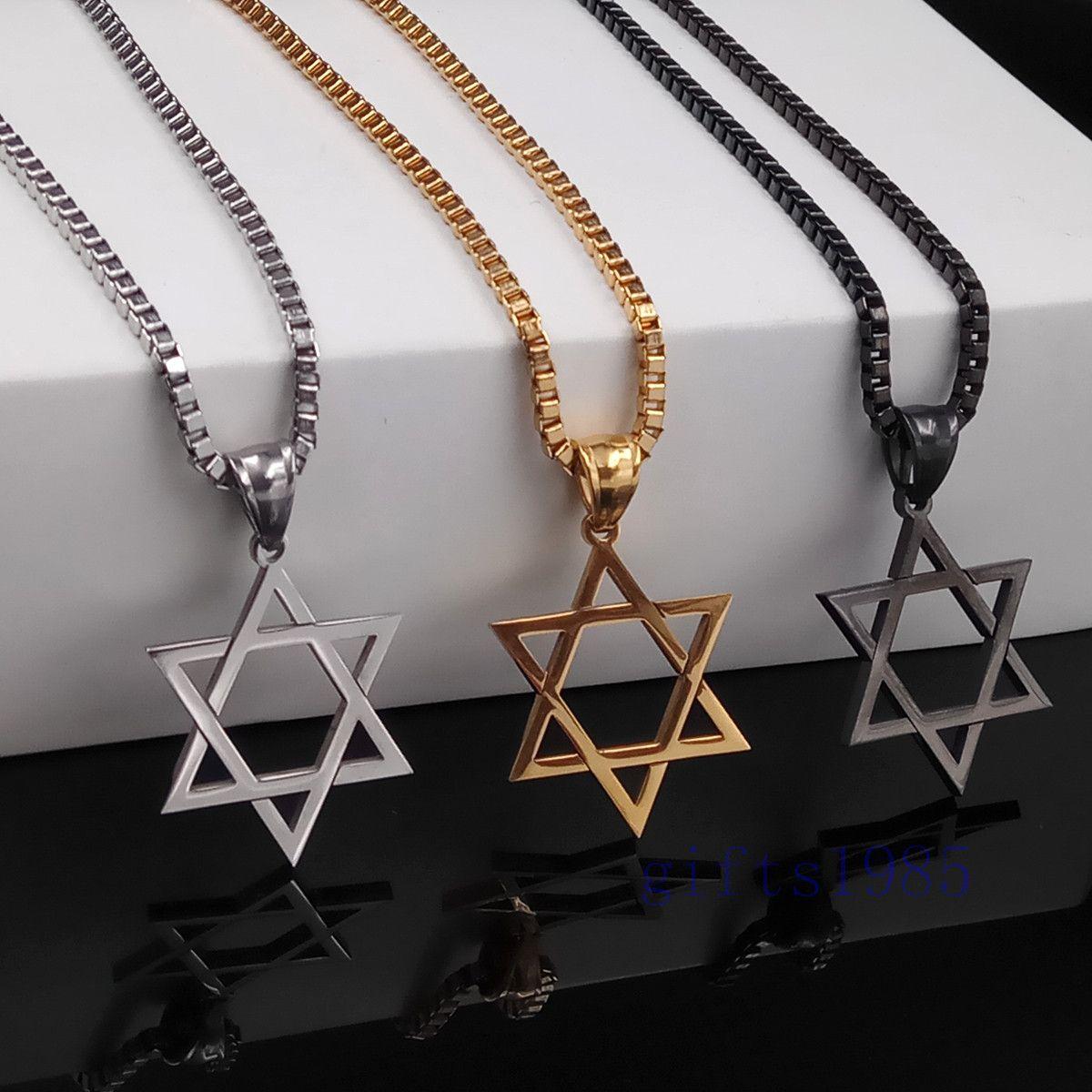 Wholesale jewelry magen star of david pendant necklace for Star of david jewelry wholesale