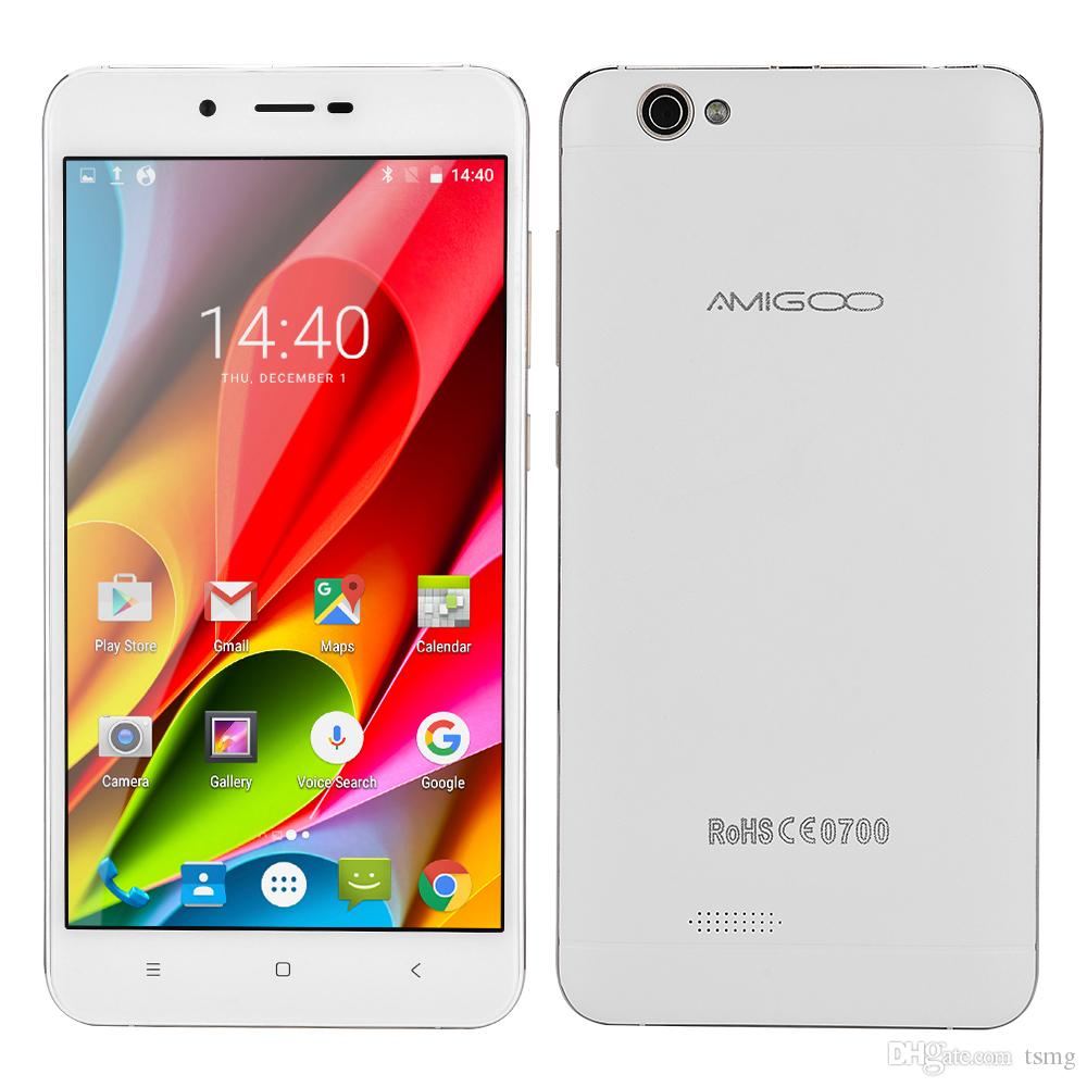 AMIGOO x15 MTK6580 Quad-core Cell Phone 5.5 pouces 4000mAh Smartphone Appareil p