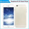 Buy Goophone i6 4.7 inch 2G Phone call Dual Core MTK6572 Android 4.4 960x540 Show 1GB/128GB Bean 4G Unlocked Smart Newest 002882