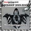 Buy ABS Fairing Suzuki GSX-650F 2008 2009 2010 GSX650 F black gray-F fairing