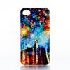 Buy Lovers Walking Rain Design Hard Plastic Mobile Phone Case Cover iPhone 4 4S 5 5S 5C 6 6plus