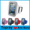 Buy iphone 6 Case Sport Armband Waterproof Colorful Pouch Cover Strap Soft Belt Jogging Running Bag Samsung Galaxy S7