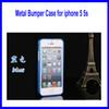Buy metal bumper iphone 5 5s phone case ultra-thin automatic buckle plum aluminum