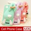 Buy iPhone 6 6s Plus 5s 5 4s 3D Cute Milan Bunny Buck Teeth Rabbit Rubber Soft Silicone Gel Case Phone Cover