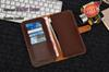 Buy Business Style Real Genuine Leather Wallet case Universal Money Purse 6 Card Pouch Iphone 7 I7 6S plus 5.5 4.7 5 5S 4 4S Bag Luxury
