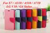 Buy S7 Edge Mercury Wallet Flip PU Leather Case TPU Cover Stand Samsung Galaxy A3 A5 A7 2016 A310 A510 A710 A9 LG V10 G5 G4 Stylus LS770
