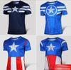 Buy Avengers 2 Men Slim Soprt Ventilation T-shirts Man America Captain Short Sleeve Summer Soft Fast Dry Tee Shirts Adult T shirt D4499