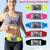 Buy Waterproof Sport Running Waist Belt pouch Reflective stripe Bag Gym Arm band Pack iphone 6 6plus inch Hanging Elastic Adjustable Waistband
