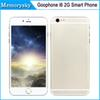 Buy 4.7 inch Goophone i6 Dual Core MTK6572 Android 4.4 Show 1GB/128GB Bean 2G Phone call 4G Unlocked Smart DHL shipping 002882
