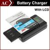 Buy YIBOYUAN Intelligent Indicator LCD Universal Home Dock Battery Charger Galaxy S5 S4 Note 3 4 USB Output Charge Mobile Phone 1250mAh