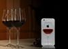 Buy 3D Red Wine Cup magic Crystal clear transparant plastic Flowing Cover Apple iPhone 5s 6 6Plus Phone Cases