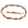 Buy vintage bracelets women 18K k Rose Gold Plated AAA Zirconia & Color Crystal Health Fashion jewelry TB277A