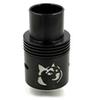 Buy 1:1 clone Doge V2 RDA Atomizer DOGE V1 Dripper Atomizers bowl SS Black Copper brass 4 colors Gift Box Packing 18650Mechanical Mod