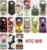 Buy HTC One M9 Cases New Dreamlike Romantic Scenery Printing Transparent Edge TPU IMD Soft Phone Case Shell Cover HTCM9 M 9