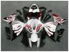 Buy YZFR1 2009 2010 2011 2012 white red flame Fairing ABS yamaha YZF-R1 09-12 YZF R1 09 10 Bodywork F