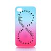 Buy Green Pink Eight Shape Design Hard Plastic Mobile Phone Case Cover iPhone 4 4S 5 5S 5C 6 6plus