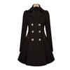 Buy Hot Classic Women Fashion British Long Style Elegant Trench Coat/Designer Belted Double Trench/Outerwear