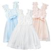 Buy Prettybaby girls lace flower sundress baby kids girl clothes sleeveless gauze beading dress summer princess dresses 6 colors Pt0223#