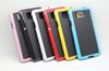 Buy Samsung galaxy S6 3D Hybrid Stereo Veins Diamond Soft TPU gel silicone Rubber cases Colorful Two Dual tone color Fashion skin cover