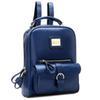Buy brand leather backpack school bags women backpacks Hiking travel bag rucksack L4-1746