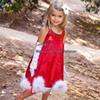 Buy 2015 New Girls Christmas dress Red paillette bowknot Dress Halloween Baby Clothes Kids Party Long Dresses