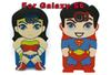 Buy 3D Superhero Wonder Woman Superman Ironman Soft Case Samsung Galaxy SVI S6 G920 G9200 America Hero Spiderman Batman Silicone Skins Cover