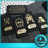 Buy 50x Star Wars Phone Case Gold Character Frosting PC Hard Back Cases Cover iPhone 6 6p plus Darth Vader R2D2 C3P0