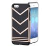 Buy Iphone 6S Fashion 2 1 V Shaped Armor Cases Soft TPU Hybrid PC Back Cover Shockproof Phone Protector iphone 6 4.7 inch 6Plus 5.5