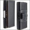 Buy Black Pouch PU Leather Case Belt Clip Holster Cover Bag iPhone 5S 6 4.7 inch Plus 5.5 Galaxy S5 S4 Note 3 Horizontal Shell