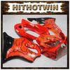 Buy 2004 2005 2006 2007 CBR600F4I red + black flames F4i Body Kit Fairing honda CBR600 CBR 600 F 04 05 06 07 Plasti