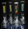 Buy Mobius D&K Glass bong 10 inch Tall Thick In-Line Sprinkler Water Pipe hand blown smoking pipe glass water new Perc