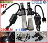 Buy 1 Set H7 5000LM 40W CREE LED Headlight LUXEON MZ CHIP One Xenon White 6500K 2500lm POWER H1 H3 H4 H8 H11 H16 880/1 9005/6 Kit