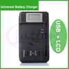 Buy Universal Battery charger LCD Screen USB Li-ion Home Wall Dock Travel Charger Samsung Galaxy S3 S4 S5 Note 3 4 Nokia, Huawei Cellphone