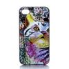 Buy Colour Cat Head Design Hard Plastic Mobile Phone Case Cover iPhone 4 4S 5 5S 5C 6 6plus