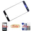 Buy 2pcs/Blue Samsung Galaxy Note5 original Front Outer Screen Glass Lens Cover Replacement Note 5 Touch Screen+Free Film+Tools