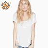 Buy 2015 Summer Women Top Shirts Fashion T Shirt Hollow Backless Sexy Tops & Tees S/M/L/XL z4