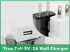 Buy Wall Charger Travel Adapter 5V 2A Home Plug Samsung Galaxy S5 S6 NOTE 3 LG HTC Huawei True Full US EU