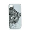 Buy Cute Cat Head Design Hard Plastic Mobile Phone Case Cover iPhone 4 4S 5 5S 5C