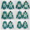 Buy Jets Football Hoodies #33 Chris Ivory 12 Joe Namath 73 Klecko 24 Darrelle Revis Brandon Marshall Green Sweatshirts Winter Jacket Jerseys
