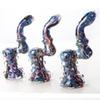Buy Mini Glass Smoking Pipes Colorful Vintage Bubbler Cool Water Pipe