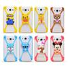 Buy Universal 3D Cartoon Silicon Frame Bumper Case Stitch Minnie kitty Minions Phone Cases Iphone7 plus 6 6plus Samsung Galaxy S6 Edge Note5