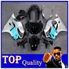 Buy ABS Plastic Bodywork Set HONDA CBR600 F4 99-00 CBR600-F4 silver blue Fairing 1999-2000 Fit CBR600F4 1999 200