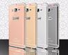 Buy Aluminum Hard Soft TPU Case Hybrid metal Golden Samsung Galaxy O7 On7 A5 A7 S5 I9600 S6 EDGE PLUS Note 5 4 3 NOTE5 Skin Cover Luxury