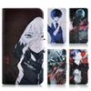 Buy Terror cartoon Tokyo ghoul Lovely ghost PU leather funny skull mobile phone cover case nubia Z7 Max NX505J