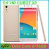 Buy Original 5 inchCubot X9 Smartphones Octa Core MTK6592 Android Phone IPS HD 1280*720 2GB RAM 16GB ROM 13.0MP Dual SIM 3G Unlocked Cell Phones