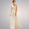Buy Hot ! Bride Dress 2015 Long Chiffon Beach A-Line Wedding Dresses Open Back / Party Sleeveless Event
