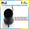 Buy Original UK home charger 5V 1.0 USB Travel Fast Charger Cable Universal Adapter iphone 6 6S Samsung power adapter