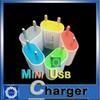 Buy Colorful USB Wall charger US EU Plug Home 5V 1A Power Charger Adapter Iphone Samsung HTC OPP Package