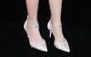 Buy 2016 Brand New Bride Wedding Shoes 8CM Elegant Rhinestone Party Diamond Princess Style 33-41 Size 2 Color Bridal Sandals